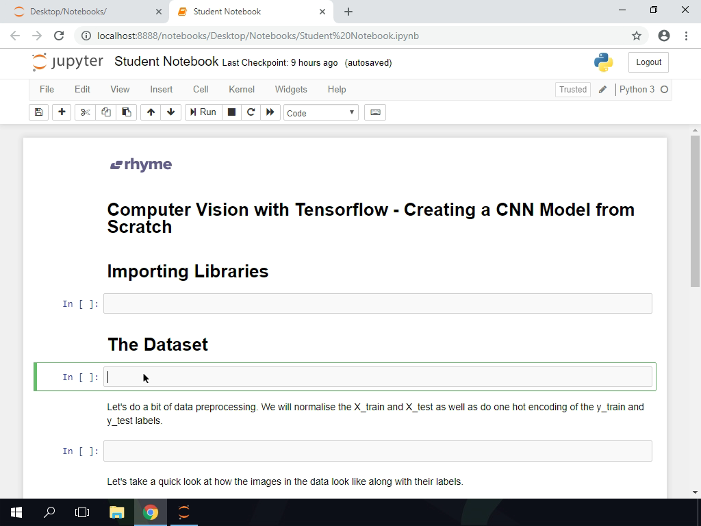 Computer Vision with TensorFlow: Creating CNN Models from Scratch