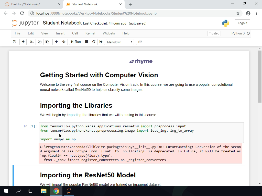 Importing the Libraries