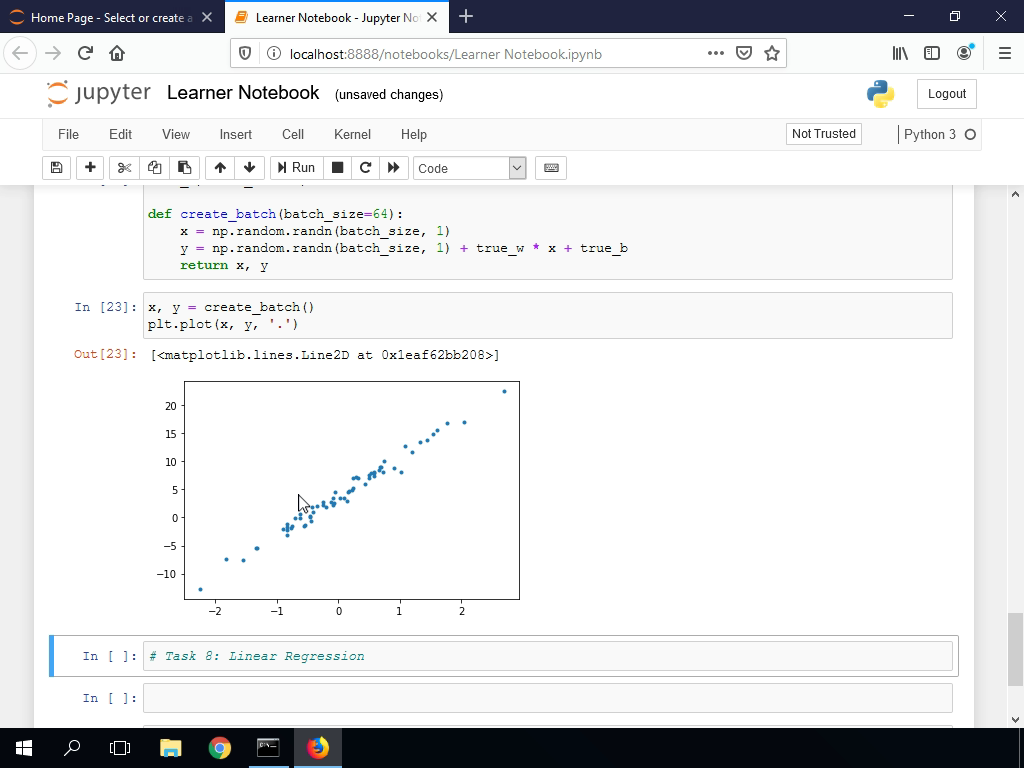 Generating Data for Linear Regression