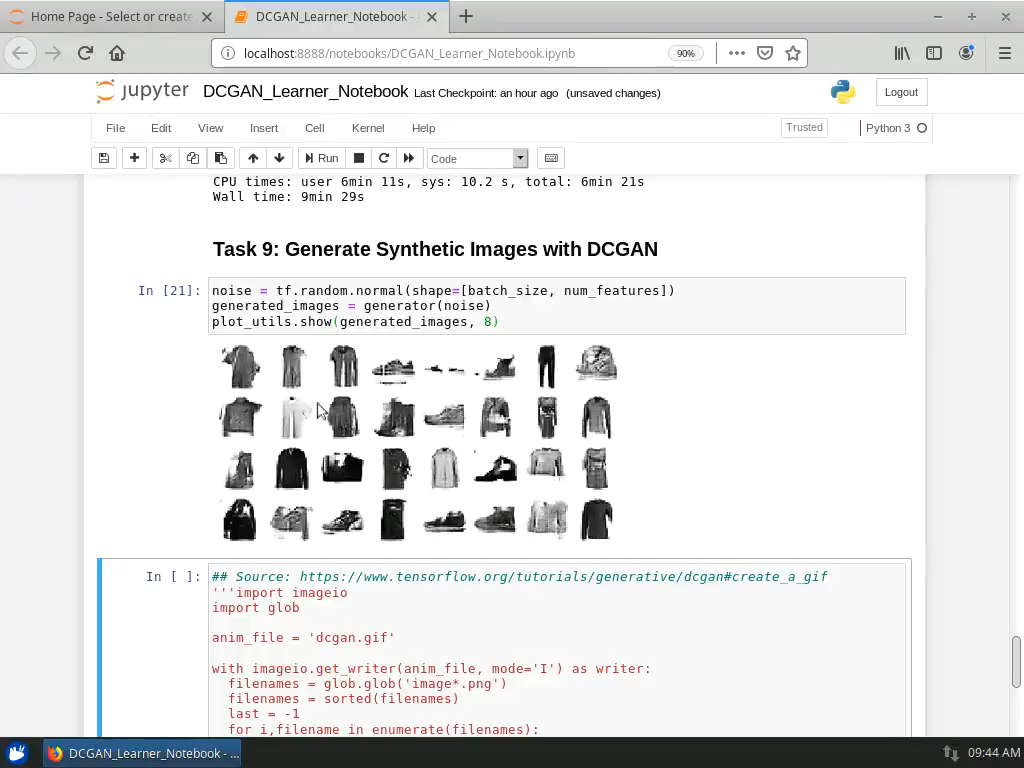 Project: Generate Synthetic Images with DCGANs in Keras