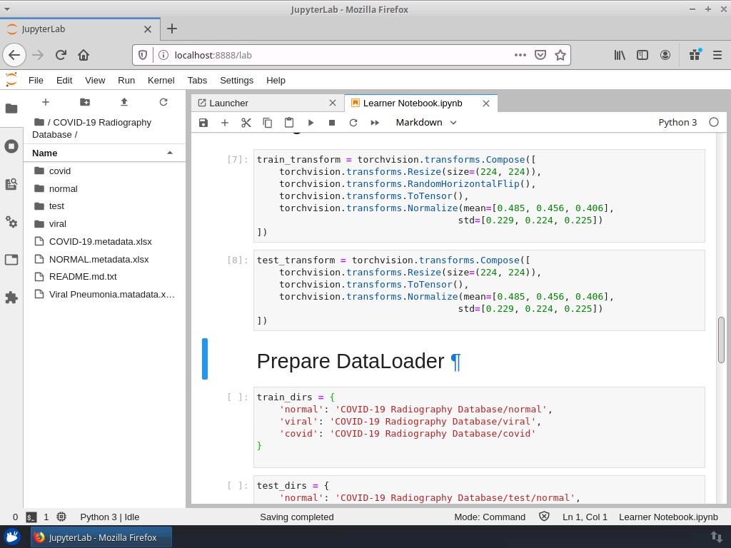 Prepare Data Loaders