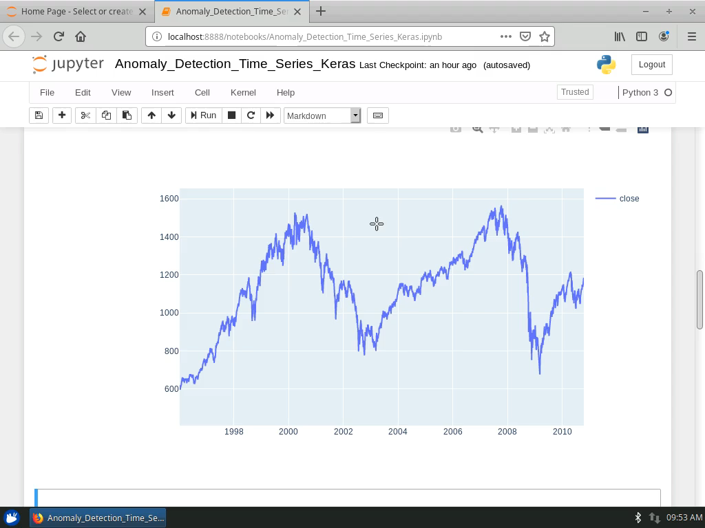 Load and Inspect the S&P 500 Index Data