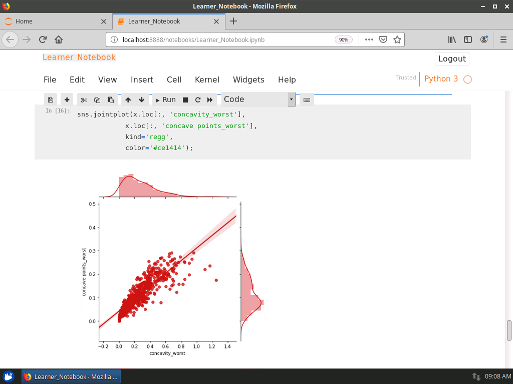 Observing the Distribution of Values and their Variance with Swarm Plots
