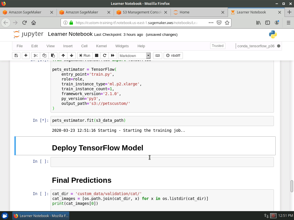 TensorFlow Estimator