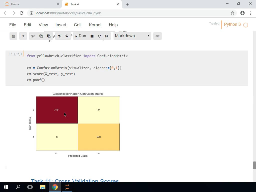 Classification Report and Confusion Matrix