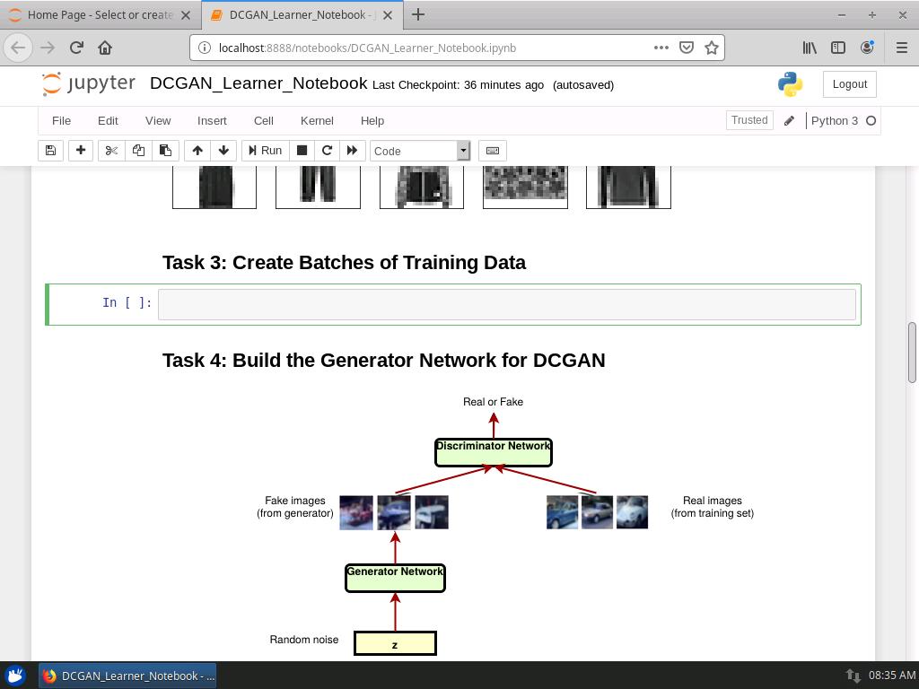 Create Batches of Training Data