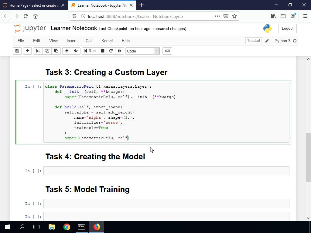 Creating a Custom Layer