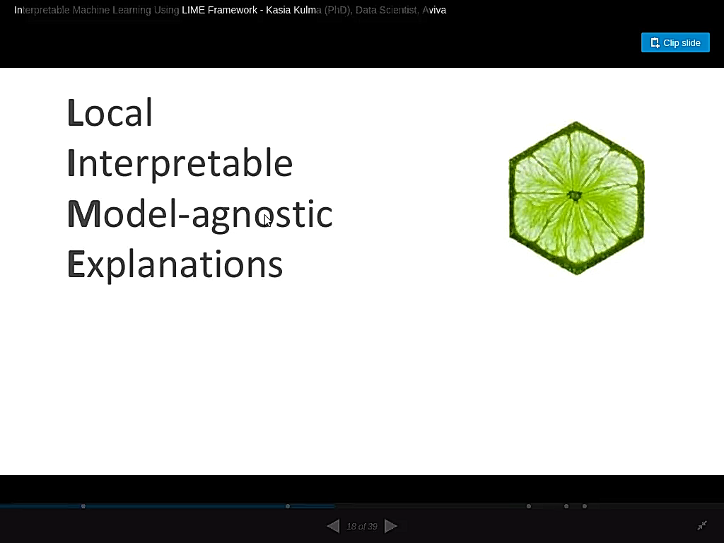 Local Interpretable Model-Agnostic Explanations