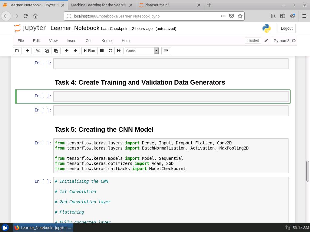 Create Training and Validation Data Generators